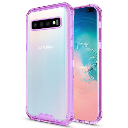 Acrylic Transparent Case for Samsung Galaxy S10 Plus - Purple