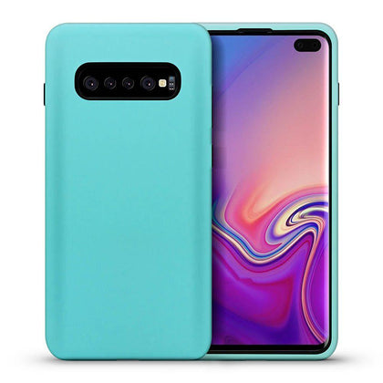Hybrid Combo Layer Protective Case for Samsung Galaxy S9 Plus - Teal