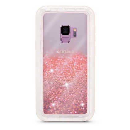 Liquid Protector Case for Samsung Galaxy S9P - Rose Gold