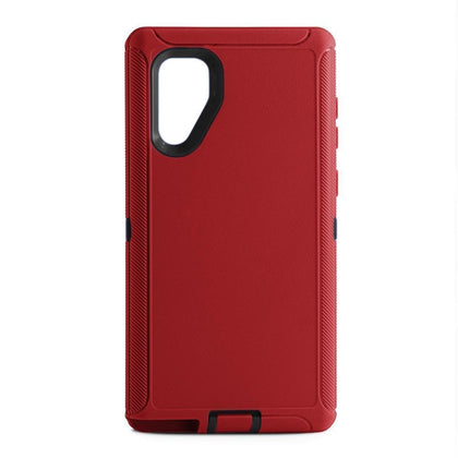 DualPro Protector Case for Samsung N10 Plus - RED & BLACK