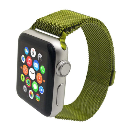 Stainless Steel iWatch Band 38/40mm - Green