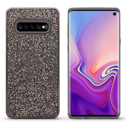 Color Diamond Case for Samsung Galaxy S10 - Black