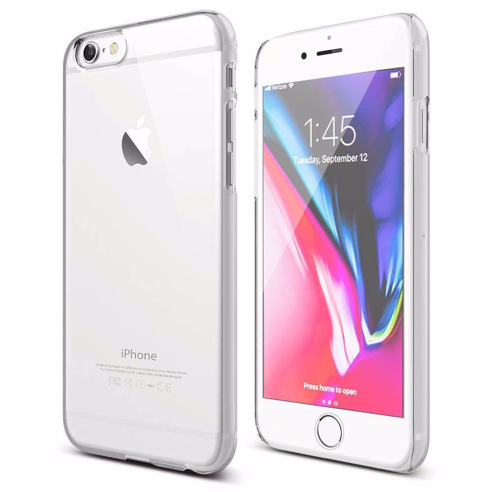 Shiny Edge 360 Case for iPhone 6P - Clear