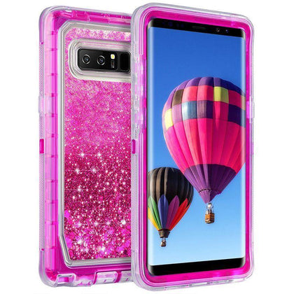 Liquid Protector Case for Samsung S10 Plus - Hot Pink