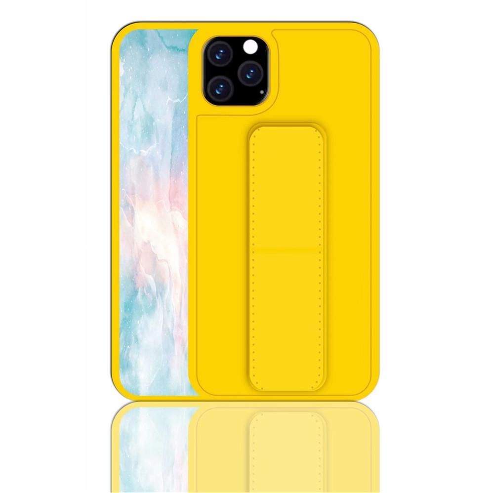 Wrist Strap Case for iPhone 11 Pro Max - Yellow