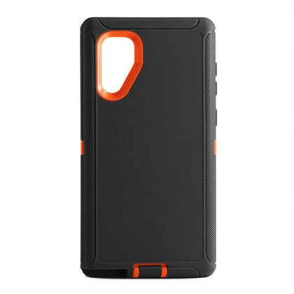 DualPro Protector Case for Samsung N10 Plus - BLACK & ORANGE