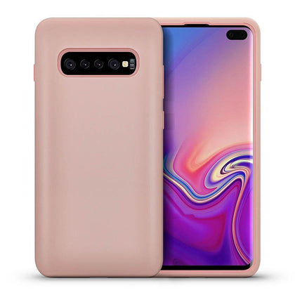 Hybrid Combo Layer Protective Case for Galaxy S10 - Rose Gold