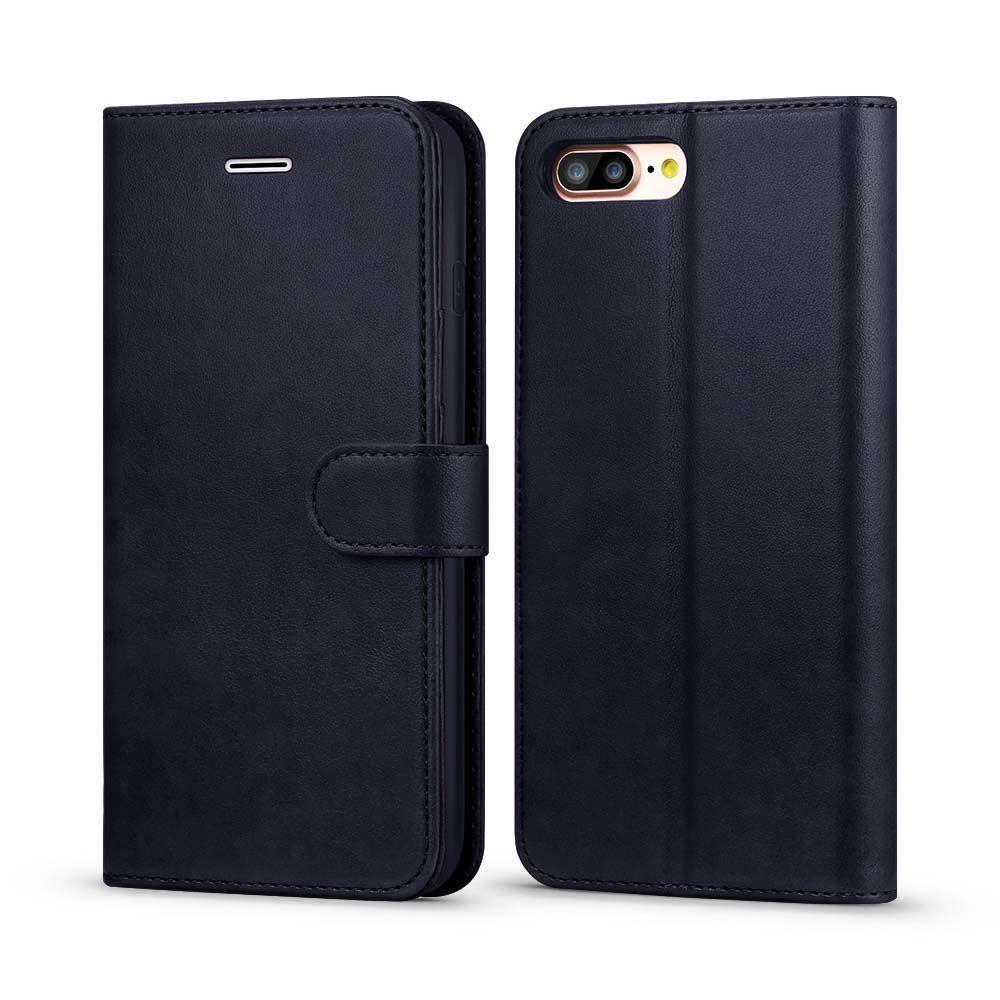 Classic Wallet Case for iPhone 7 Plus - Dark  Blue