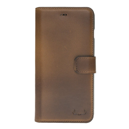 BNT Wallet ID Window for iPhone Xs Max - Brown