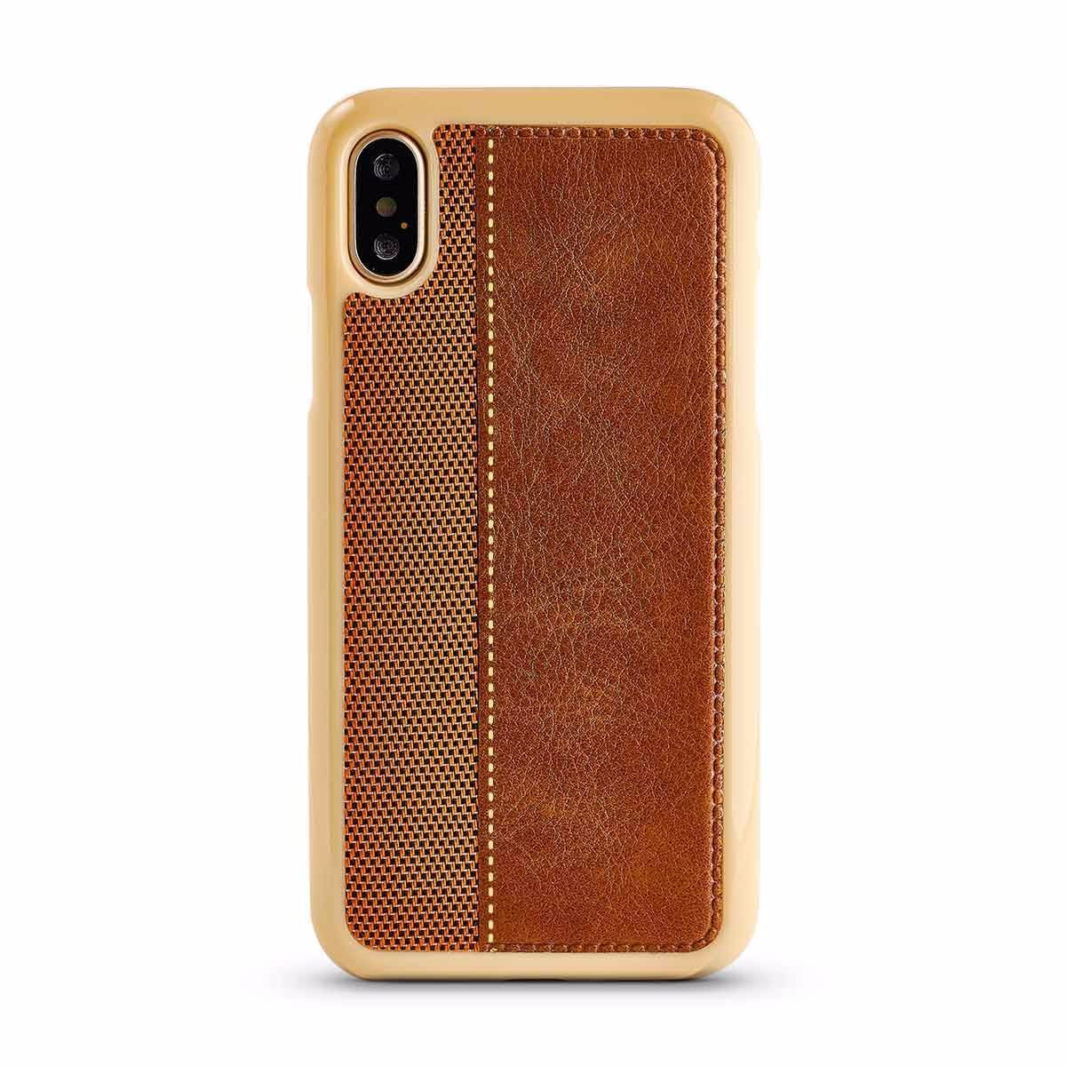 Ankaa Case for iPhone X, XS - Brown