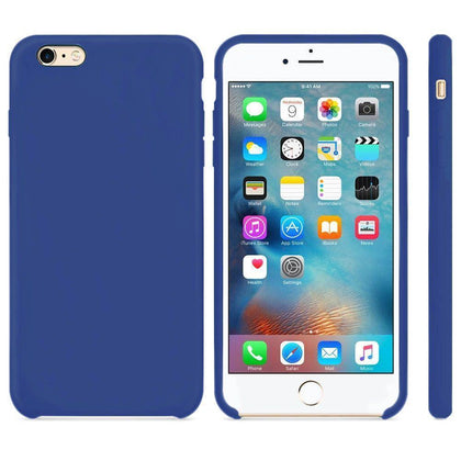 Premium Silicone Case For iPhone 7 Plus /8 Plus - Dark Blue