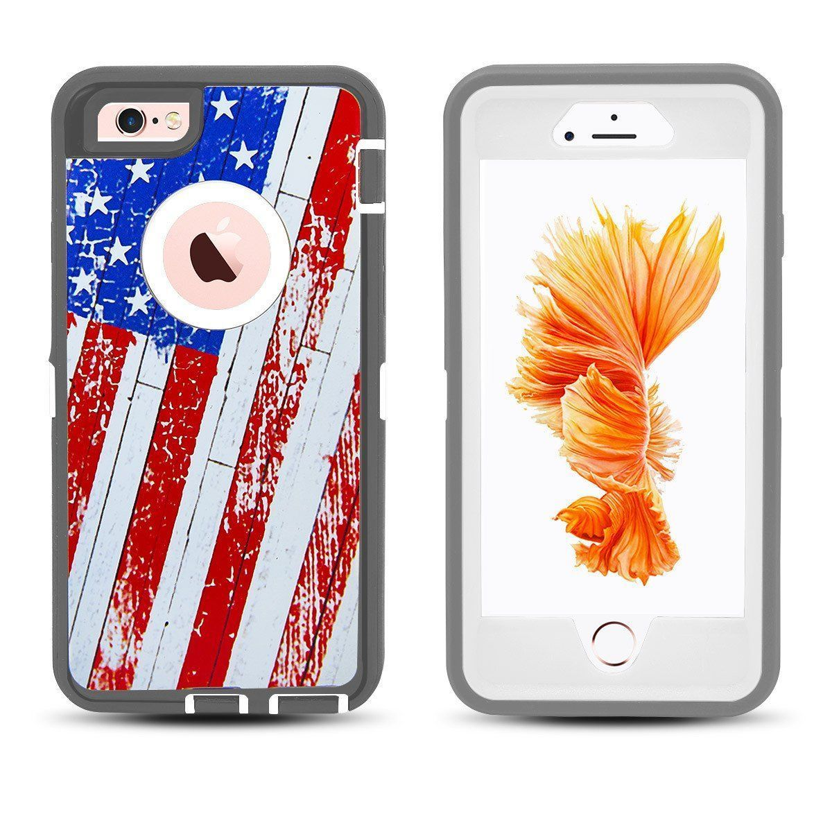 DualPro Protector Case for iPhone 6 - American Flag