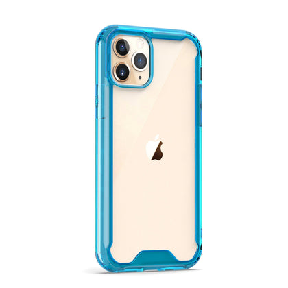 Acrylic Transparent Case for iPhone 11 - Blue