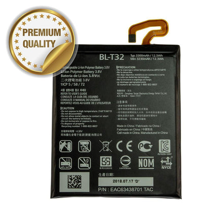 Battery for LG G6 (Zero Cycle) (Premium Quality)