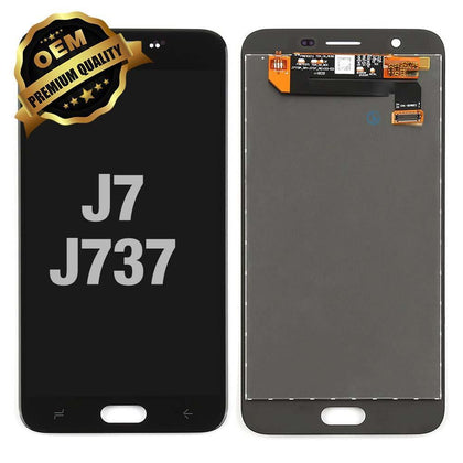 LCD Assembly for GALAXY J7 (J737 / 2018) (Premium) - Black