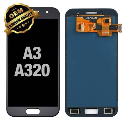 LCD Assembly for GALAXY A3 (A320 / 2017) (Premium) - Black