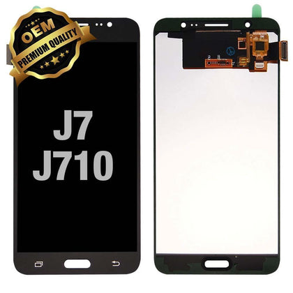 LCD Assembly for GALAXY J7 (J710 / 2016) (Premium) - Black