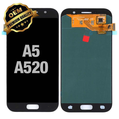 LCD Assembly for GALAXY A5 (A520 / 2017) (Premium) - Black