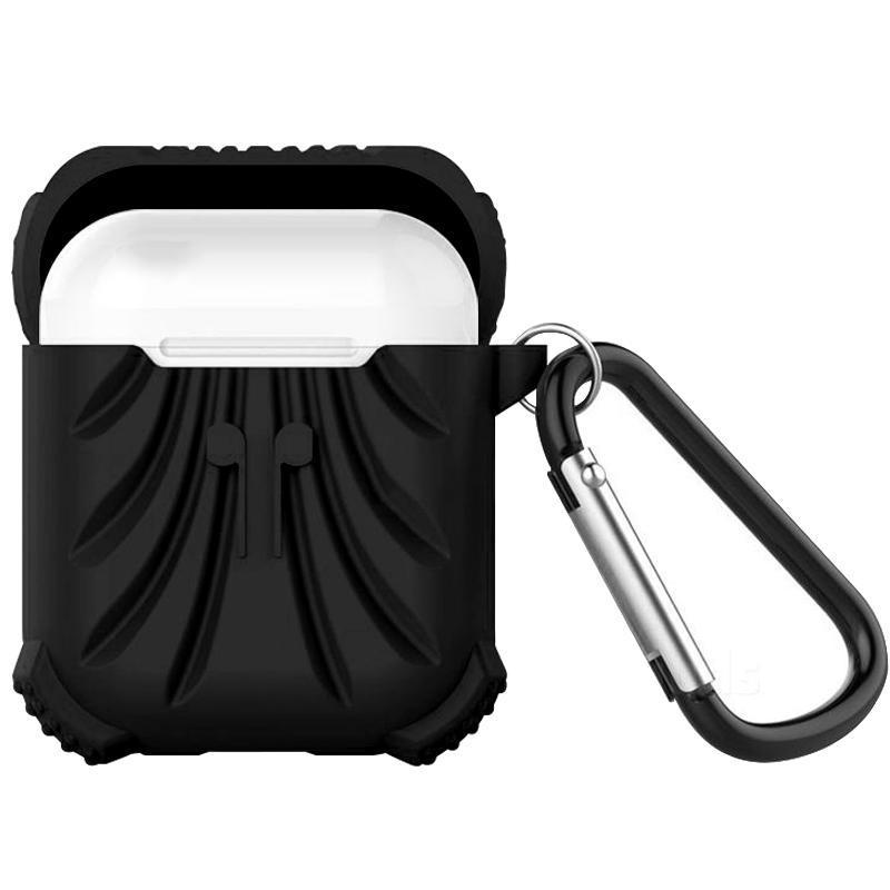 Protector Silicone Case for Apple Airpods - Black