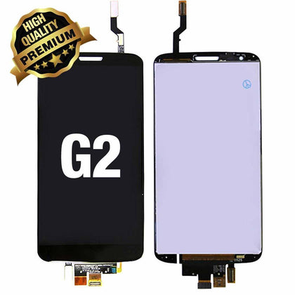 LCD Assembly for LG G2 (Premium Quality) - Black | MobilEnzo