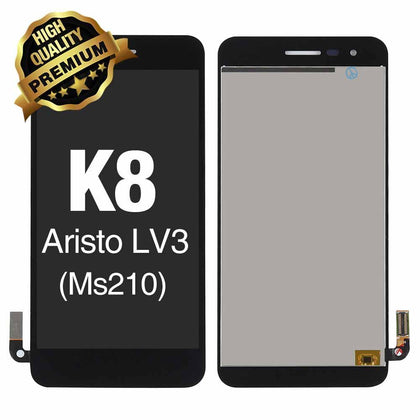 LCD Assembly  for LG K8 2017 (Aristo /  MS210) Without Frame (Premium Quality) - Black | MobilEnzo
