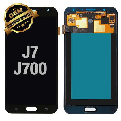 LCD Assembly for GALAXY J7 (J700 / 2015) (Premium) - Black