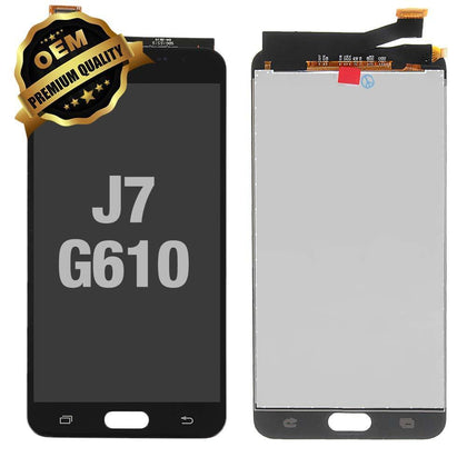 LCD Assembly for GALAXY J7 Prime/On 7 (G610) (Premium) -  Black