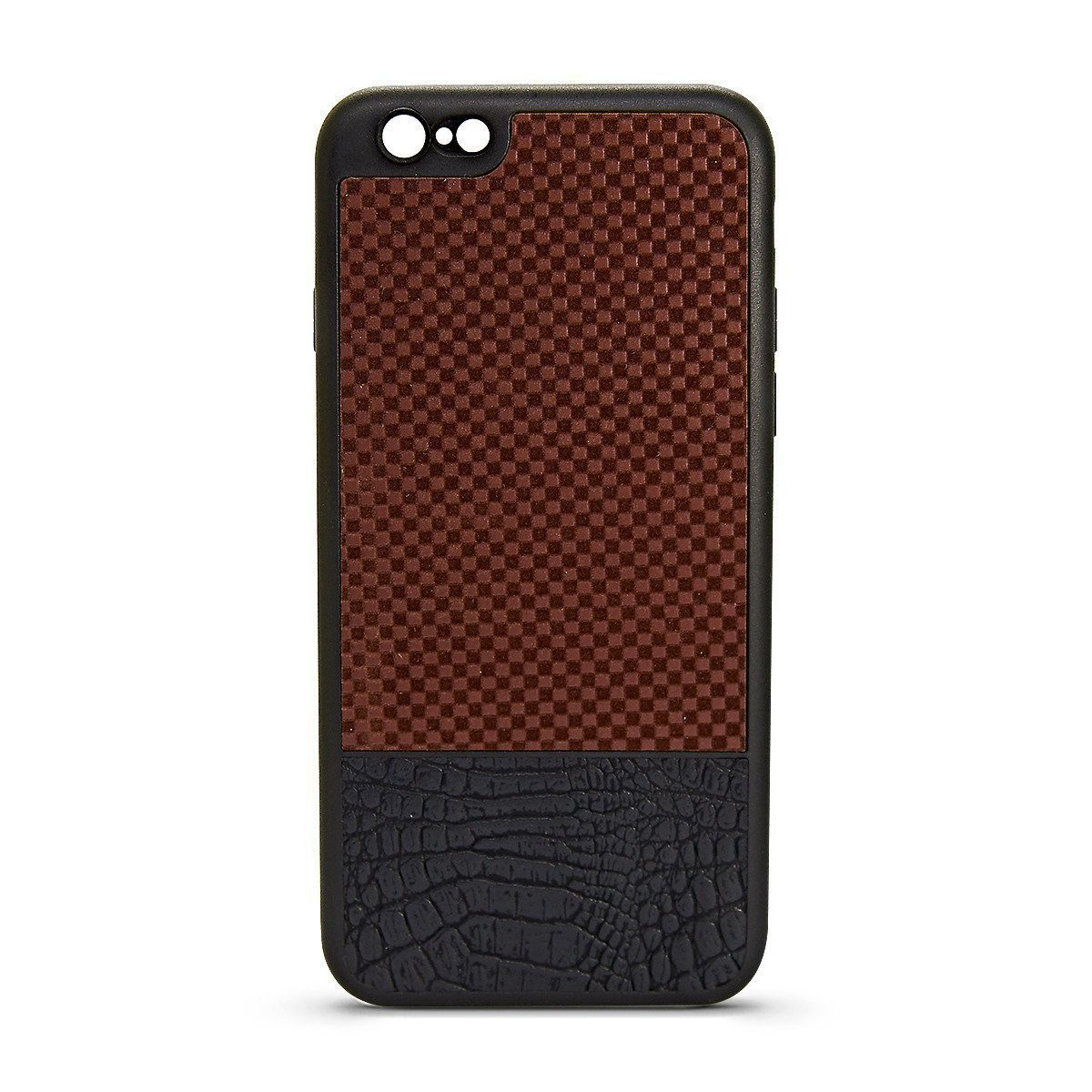 YKB Leather Case for i6P - Brown Square