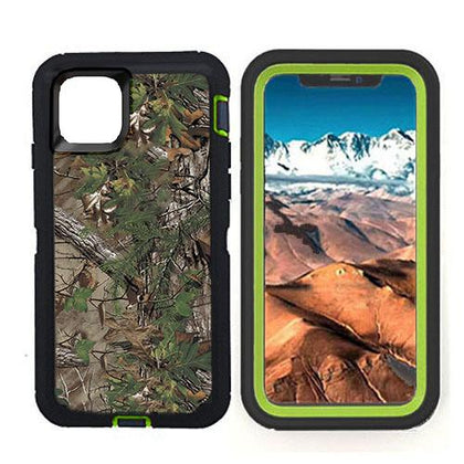 DualPro Protector Case for iPhone 11 - Camouflage Green
