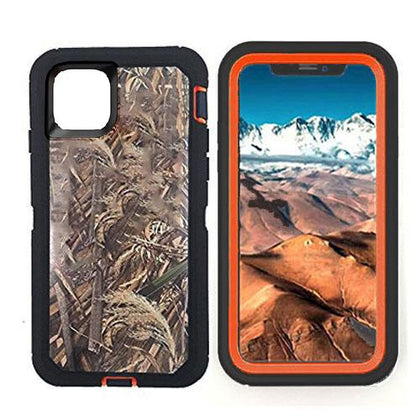 DualPro Protector Case for iPhone 11 - Camouflage Orange
