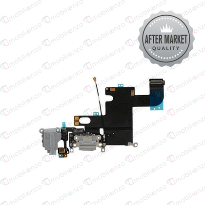 Charging Port Flex Cable for iPhone 6 (Aftermarket Quality) -  Black