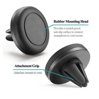 Circle Magnetic Air Vent Phone Holder (A006) | MobilEnzo