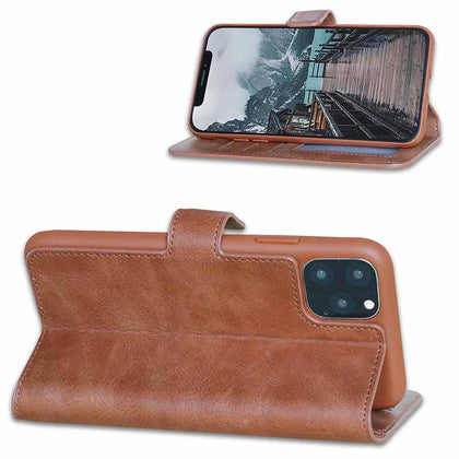 BNT Wallet ID Window for iPhone 11 - Brown