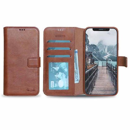 BNT Wallet ID Window for iPhone 11 Pro - Brown