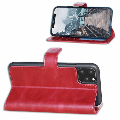 BNT Wallet ID Window for iPhone 11 Pro Max - Red
