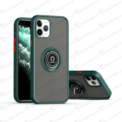 Matte Ring Case for iPhone 11 - Dark Green