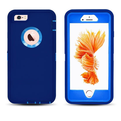 DualPro Protector Case for i7 /8 - Dark Blue and Blue