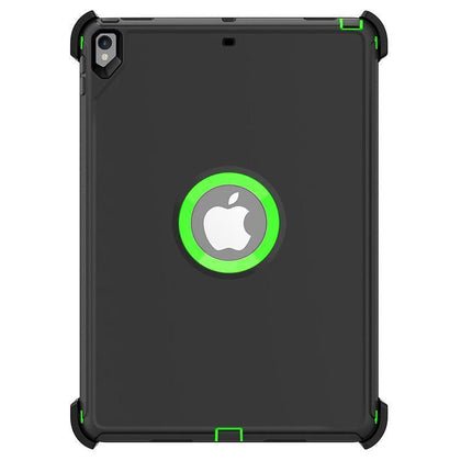 DualPro Protector for iPad Pro 10.5 - Dark Grey & Light Green