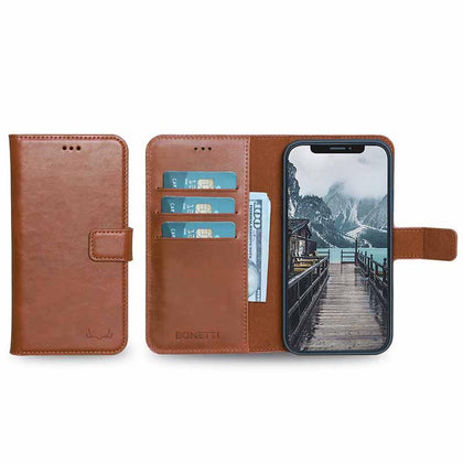 BNT Wallet  Magnet Magic for iPhone 11 Pro - Brown