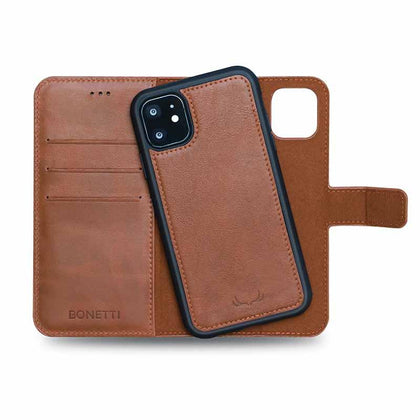 BNT Wallet  Magnet Magic for iPhone 11 - Brown