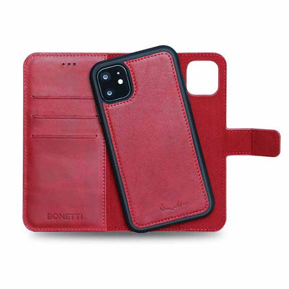 BNT Wallet  Magnet Magic for iPhone 11 - Red