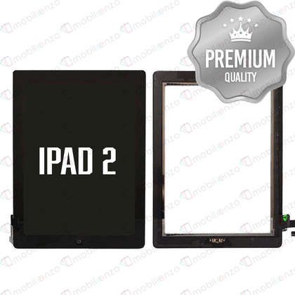 Digitizer for iPad 2 - Black