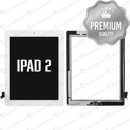 Digitizer for iPad 2 - White