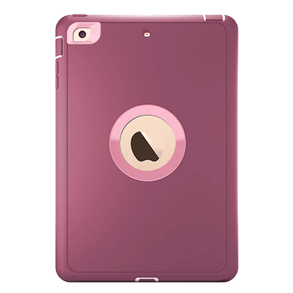 DualPro Protector for iPad 2/3/4 - Burgundy & Light Pink