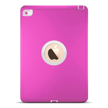 DualPro Protector for iPad 2/3/4 - Pink & White