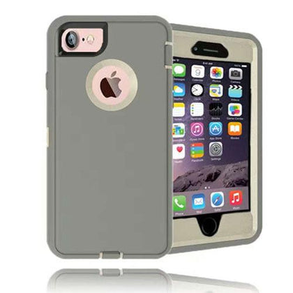 DualPro Protector Case for I5 - Grey & White