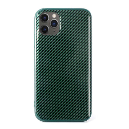 Carbon Case for iPhone 11 Pro- Green