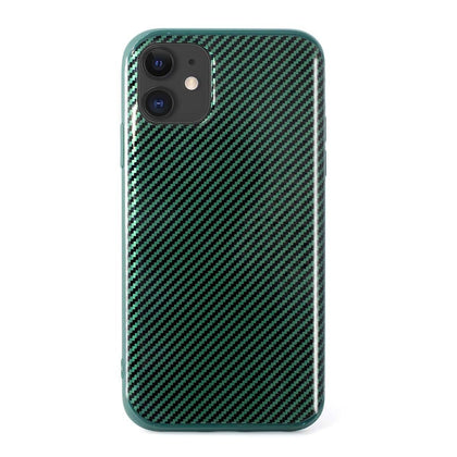 Carbon Case for iPhone XR - Green
