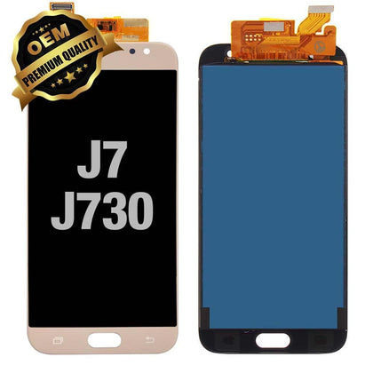 LCD Assembly for GALAXY J7 PRO (J730/2017) (Premium) - Gold