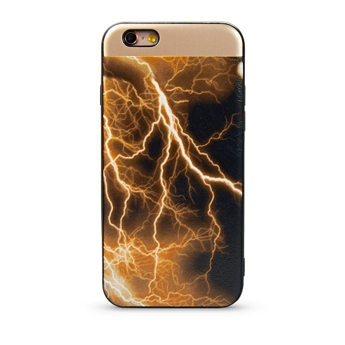 Lightning Case For iPhone 7 /8 - Gold